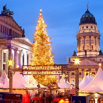 Berlin Xmas Market Square